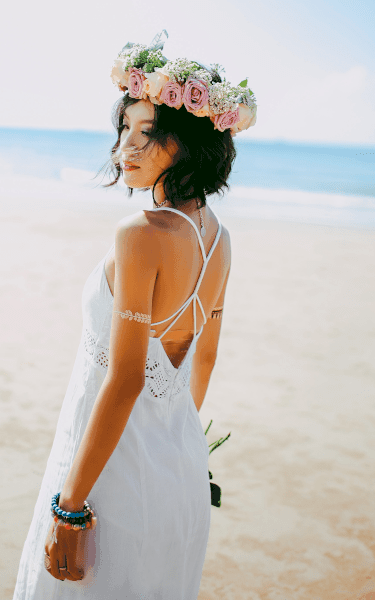 la robe de mariée coupe droite