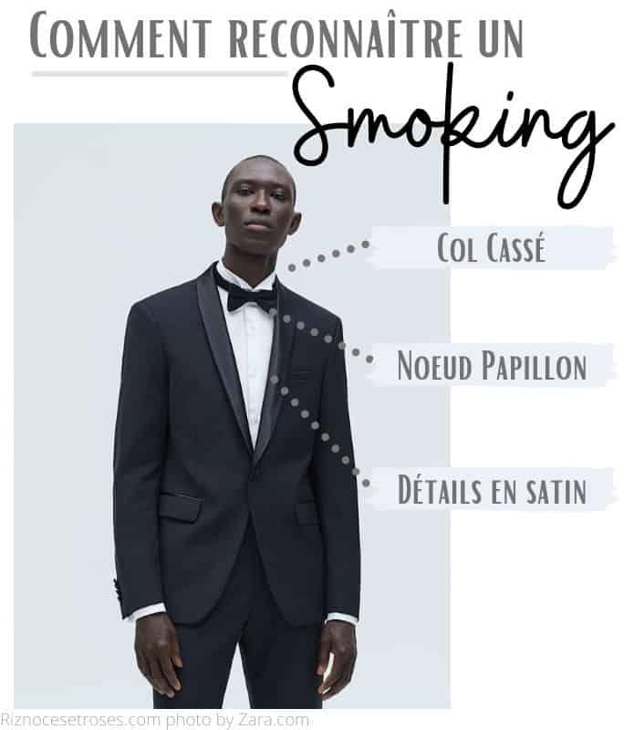 comment reconnaître un smoking