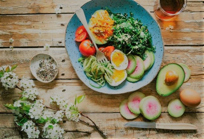 salade composée pour perdre du poids