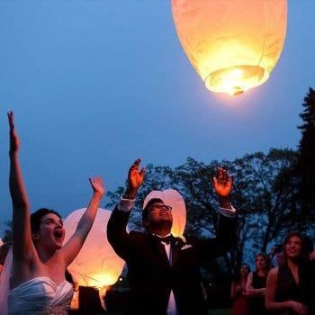 lanternes chinoises volantes pour mariage amazon