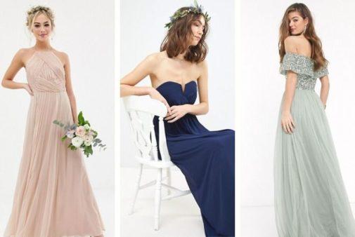 3 robes de demoiselles d'honneur