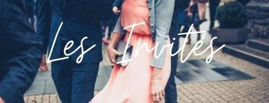 """couple habillés pour un mariage """"les invités"""""""