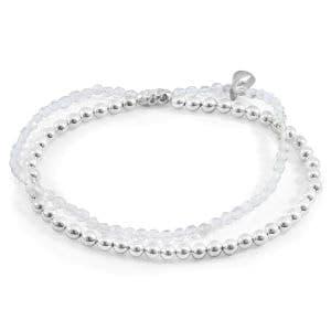 bracelet élastique 2 rangs