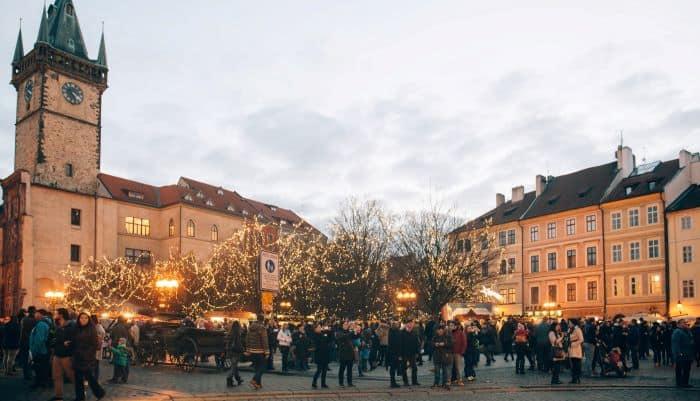 centre ville de prague en europe