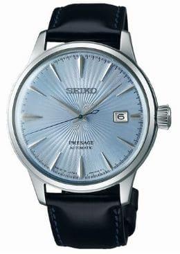 montre de mariage seiko fond bleu